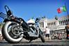 ROMA - HARLEY DAVIDSON - 110th ANNIVERSARY (f@brizio72) Tags: roma italia moto capitale motori bandiera fabriziocarbone euroraduno 110annidiharley
