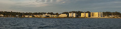 Panorama1 (D G Butcher) Tags: ferry boats harbour nightsky patrol poole moorings barfleur pooleharbourwatch