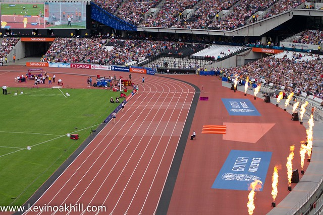 Michael McKillop wins the 800 metres, London Paralympic Anniversary Games, Olympic Stadium