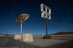 Lost Highway (dejavue.us) Tags: 1835mmf3545d abandoned coaldale desert fullmoon highway6 highway95 longexposure nevada nightphotography nikkor nikon startrails vle lightpainting d800