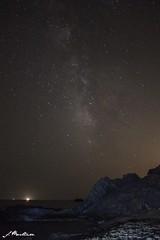Vía Láctea en Percheles (Rebelorz) Tags: beach de lights playa via murcia vía milkyway gallego mazarrón lactea láctea cañada percheles