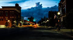 Friday Night (ramseybuckeye) Tags: life county street ohio usa cloud storm art allen lima pentax south main explored k30 justpentax da18135