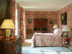 My room at Chateau Haut Brion for the night