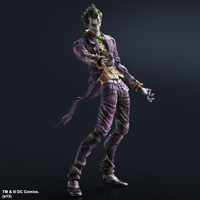 Play Arts 改 - 蝙蝠俠:阿卡漢城市 - 小丑
