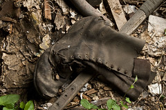 Worked to Death (opticalreflex) Tags: abandoned boot decay used forgotten footwear worn engfer orting usedup wellworn