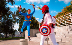 """""""rawr! pt. ii"""" (youngsanglee) Tags: california ca city silly art fall love beautiful fun creativity photography la photo losangeles costume amazing cool nice downtown artist photographer photoshoot artistic cosplay awesome great creative photograph superhero vadering"""