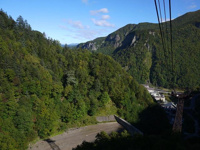 層雲峽黑岳纜車