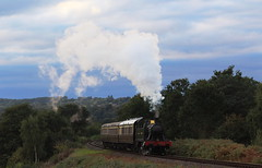 GWR tank engine 4566 on the SVR. (Keith Wilko) Tags: tank worcestershire railways svr severnvalleyrailway kidderminster steamengines bewdley 4566 tankengines 4566loco loco4566