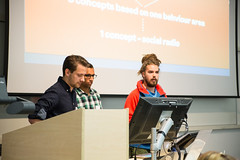 Clearleft interns (2013): Kilian Bochnig, Zassa Kavuma and Victor Johansson