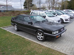 Audi 80 Coup Quattro (Zappadong) Tags: auto classic car automobile voiture coche classics b2 oldtimer audi 80 oldie carshow coup quattro 2014 youngtimer automobil hennef oldtimertreffen zappadong