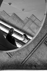 Incontri - 58 mm (Giulio Gigante) Tags: street bw metro toledo napoli naples flickrdiamond giulionikon