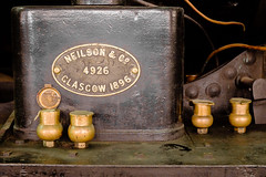 Scottish Iron (Steve Crane) Tags: southafrica george glasgow locomotive brass neilson westerncape 1896 outeniquatransportmuseum