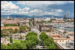 Sant-Montjuic (tomekwysocki) Tags: barcelona red spain nikon catalonia espana 1750 28 d200 tamron spa sant esp montjuic catalunia travelphotography santmontjuic