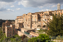 Panorama sul Santa Maria della Scala (Il Tesoro di Siena) Tags: italy italia tuscany siena toscana