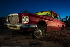 A Valiant Effort (dejavue.us) Tags: california longexposure nightphotography lightpainting abandoned nikon fullmoon fresno junkyard nikkor d800 1835mmf3545d vle