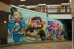 Also & Mr Zero (KylaBorg) Tags: streetart graffiti brighton mrzero also