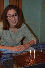 DSC_7939 (jjldickinson) Tags: cake dessert candle longbeach birthdaycake wrigley ellendickinson nikond3300 promaster52mmdigitalhdprotectionfilter nikon1855mmf3556gvriiafsdxnikkor 102d3300