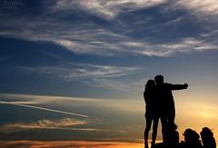 Te querr eternamente (RalRuiz) Tags: sunset italy rome roma contraluz atardecer italia siluetas sanpaolo ilgiardinodegliaranci