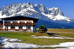Wilder Kaiser in Tirol (gerard eder) Tags: world travel reise viajes europa europe austria sterreich tyrol tirol wilderkaiser mountains montaas gebirge alpes alps alpen springtime panorama landscape landschaft paisajes