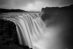 Mighty Dettifoss (Sophie Carr Photography) Tags: dettifoss waterfall bw blackwhite northerniceland iceland longexposure ndfilter silhouette