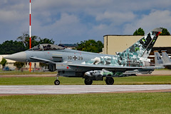 3029 (GH@BHD) Tags: 3029 eurofighter eurofightertyphoon luftwaffe germanairforce riat riat2016 raffairford fairford military strikeaircraft fighter aircraft aviation specialcolours