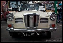Wolseley (zweiblumen) Tags: wolseley ate899j northwestmuseumofroadtransport sthelens merseyside england uk classic car hdr canoneos50d polariser zweiblumen