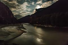 Harshil in moonlight (Sharat.Sharma) Tags: harshil moonlight bhagirathi river mountain water moon uttarakhand india