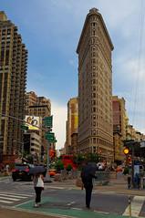 Flatiron building (Bokeh & Travel) Tags: flatiron building skyscraper architecture newyork nyc ny newyorkcity manhattan midtown broadway fifthavenue crossroad afternoon colors colorful goldenhour rain beauty w23st