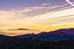 A Fall  Sunrise Across The Blue Ridge (Louise Lindsay) Tags: inversion heritageridgevillas heritageridgevillascom 101216 2016 hrv ma nc wnc autumn dawn fallcolors inversin sunrise