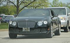 Bentley Continental GTC W12 (SPV Automotive) Tags: bentley continental gtc w12 convertible exotic sports car black