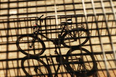 Bicycle at the Photokina 2016 Cologne, Germany (Trampelman) Tags: flickrexplore trampelman cologne 2016 90mm leica mp niksoftware germany photokina2016 sepia