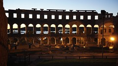 Amphitheater Pula (picturesfrommars) Tags: amphitheater pula a6000 sigma 30mm f14 cotemporary