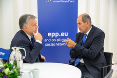 EPP Summit, Maastricht, October 2016 (More pictures and videos: connect@epp.eu) Tags: epp european peoples party maastricht summit janez jana sds si slovenia viktor orbn prime minister fidesz hungary