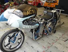 1974 Pegasus Norton (jane_sanders) Tags: goodwoodfestivalofspeed goodwood festivalofspeed gfos fos movingmotorshow mms westsussex sussex pegasusnorton pegasus norton dragracer motorbike motorcycle