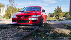 2 - Happy face (Jumpy' Photographie) Tags: rouge red black noir evo evo8 lancer mitsubishi sony alpha a65 shoot shooting japon japonaise sportive