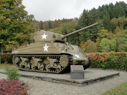 American tank from 1944