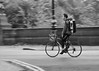 Look Ma, No Hands (Gavin Ross) Tags: glasgow kelvinway bike cycle nohands