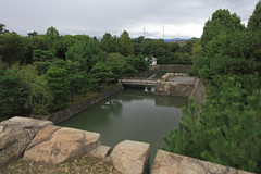 View on last line of defence (iorus and bela) Tags: japan september vakantie holiday azie asia nipon kyoto royalgardens castle japanesecastle