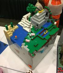 Minecraft (wiredforlego) Tags: lego toy eccc seattle washington sea minecraft