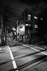 Theory: Tokyo by design. (Presence Inc) Tags: night rx1rm2 street sony abstract spaces mirrorless architectural light people designtheory 35mm urban tokyo urbanscape geometric dark photography rx1r design graphic bw texture japan detail