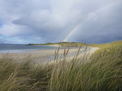 warzone (SkyeBaggie) Tags: balnakiel cape wrath rainbow beach postcard sand sutherland scotland panasonic lumix