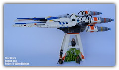 Star Wars Rogue one (peter-ray) Tags: rebel uwing lego star wars minifigure set 75155 space ship si fii warship peter ray shipthember tie fightrer ala x moc brick rogue one