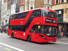 SN16OJH (47604) Tags: sn16ojh ctplus 2518 bus liverpoolst london route service 26 waterloo