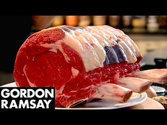 Stuffed Rib of Beef with Horseradish Yorkshire Puddings | Gordon Ramsay (Download Youtube Videos Online) Tags: stuffed rib beef with horseradish yorkshire puddings | gordon ramsay