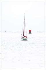 A la manire de Philip Plisson (chando*) Tags: baiedemorlaix balises bateau beacons boat bretagne brittany cotre finistre highkey mer redermor sailingboat sea seascape sloop voilier