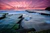 Zig Zag (tonylimphotography) Tags: turimetta longexposure australia nsw ndfilter reversegrad leefilter sunrise beach xt2 fujifilm mirrorless seascape xf1024mmf4 fuji sydney