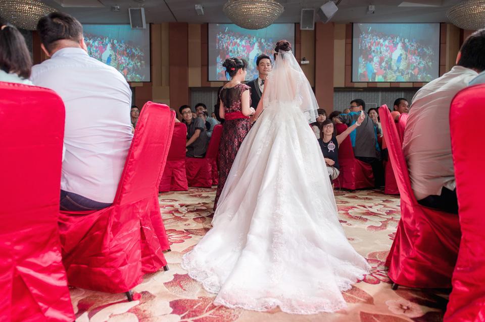 台南婚攝 婚禮紀錄 情定婚宴城堡 C & M 122