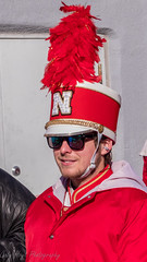 Nebraska Band Member (Codydownhill) Tags: football game huskers big red sports portrait trophy brother dad