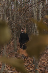 (CarolienCadoni..) Tags: sonyslta99 sal50f14 50mmf14 backshot forest woods trees leaf autumn autumncolors bokeh dof outdoor