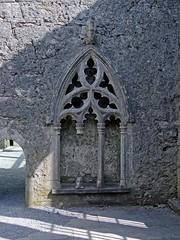 Detail of Kilfenora Abbey, County Clare, Ireland - Kopie (Anne O.) Tags: 2014 clare countyclare irland kilfenora panoramio6954847110192973
